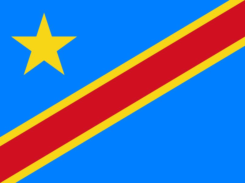 vlag democratische republiek congo